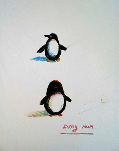 oliver jeffers how to draw a penguin