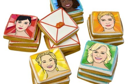 Elenis Oscar Cookies on Today Show