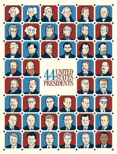 44 U.S. Presidents
